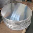 1050 1060 A1070 Aluminum Sheet Circle Thickness Customized For Ventilation